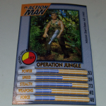 Action Man Power Cards 1996 Operation Jungle Trading card @sold@